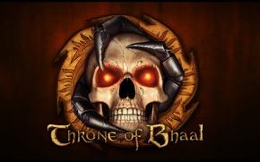 Обои skull, eyes, Throne of Bhaal