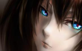 Обои арт, karlwolf, аниме