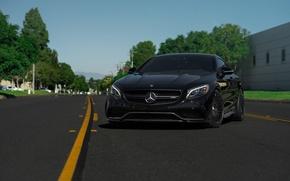 Картинка Mercedes, Benz, Classic, Wheels, S63, HRE