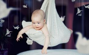 Картинка счастье, дети, ребенок, подушки, малыш, милый, happy, beautiful, child, cute, children, kid, happiness, счастливый, ребенка, ...