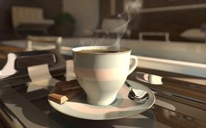 Обои coffee cup, кофе, чашка