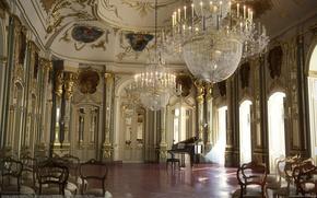 Картинка интерьер, дворец, Barbara Witkowska