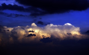 Картинка небо, облака, тучи