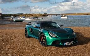 Обои Lotus, Coupe, лотус, Exige, эксидж, купе, Sport