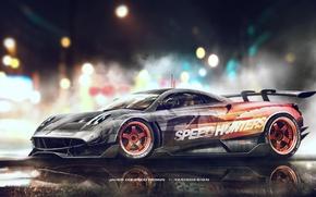 Картинка Pagani, Need for Speed, Huayra, Speedhunters, Yasid Design
