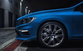 Картинка Volvo, Диск, Колесо, Голубой, S60