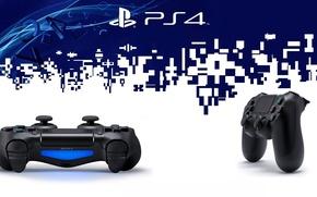 Картинка стиль, sony, gamepad, ps4, DualShock 4