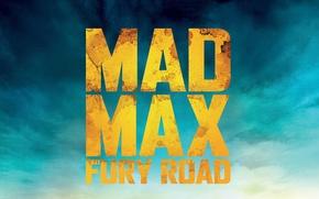 Картинка logo, Mad, background, movie, Road, Max, 2015, Mad Max Fury Road
