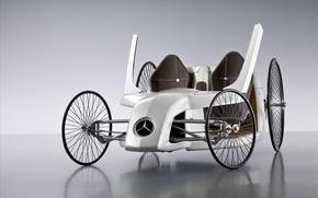 Обои колеса, автомобиль, мерседес