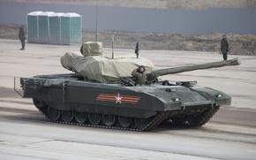 Картинка бронетехника, боевой танк, Армата, Т-14