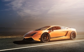 Картинка Lamborghini, Superleggera, Gallardo, orange