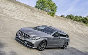 Картинка Mercedes-Benz, AMG, CLS63, 2015