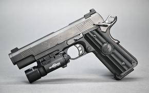 Картинка пистолет, оружие, полуавтоматический, Nighthawk Custom