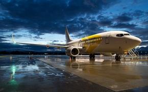 Обои Boeing 737, авиация, самолёт