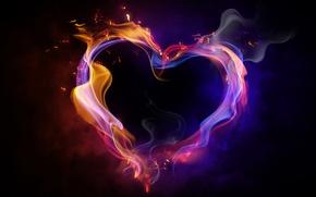 Картинка любовь, Сердце, дружба