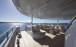 Картинка дизайн, стиль, интерьер, luxury motor yacht