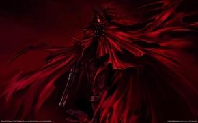 Картинка оружие, плащ, Final Fantasy 7, последняя фантазия, Dirge Of Cerberus, Vincent Valentine