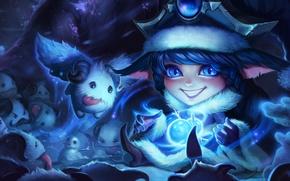 Картинка winter, League of legends, LoL, Lulu, wonder, Snowdown