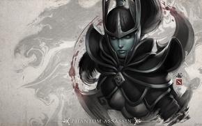 Обои Шлем, Valve, IceFrog, Dota 2, Дагер, Phantom Assassin