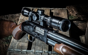 Картинка оружие, оптика, ружьё, помповое, Mossberg 500