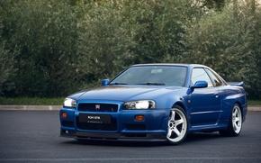Картинка GTR, Nissan, Skyline, R34, V-SPEC
