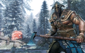 Картинка Microsoft, wallpaper, game, forest, Sony, armor, blizzard, weapon, Ubisoft, power, snow, man, tatoo, blade, DLC, ...