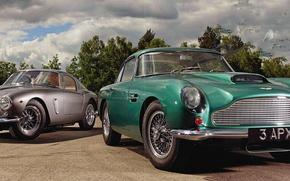 Картинка Aston, Martin, Ferrari, 250 GT, DB4, SWB