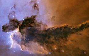 Обои Хабл, Орла, Туманность