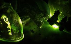 Картинка Space, Game, Honnoror, Alien Isolation