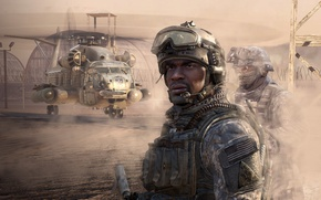 Картинка Modern Warfare 2, Games, bleсk, Foley