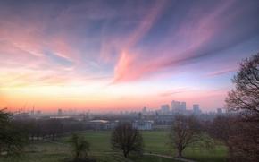 Картинка англия, лондон, london, england, skies, greenwich park