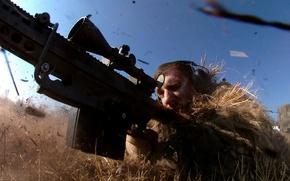 Картинка трава, маскировка, снайпер