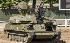 Картинка Шилка, ЗСУ-23-4, самоходная установка, советская, зенитная