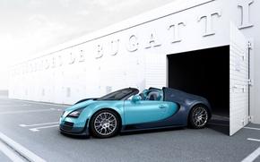 Картинка supercar, Bugatti Veyron, бугатти, автообои, Grand Sport, Vitesse