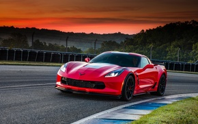 Обои Coupe, шевроле, Corvette, Chevrolet, корвет, Stingray, купе