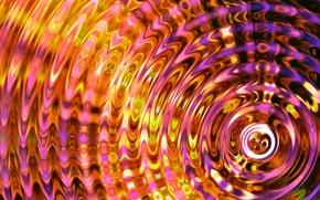 Картинка вода, круги, синий, текстура, рябь, colorful, water, background, liquid, rings, ripples