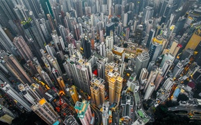 Картинка Китай, дома, Гонг - Конг, город