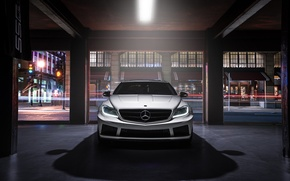 Картинка Mercedes-Benz, Body, Front, AMG, Wide, Ligth, CL63, Customs