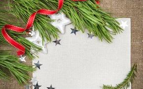 Картинка украшения, праздник, елка, Рождество, открытка, Merry Christmas, postcard, greeting