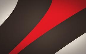 Обои красный, полосы, линии, абстракция