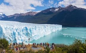 Картинка Природа, Горы, Лед, Аргентина, Реки, glacier, Moreno, Perito