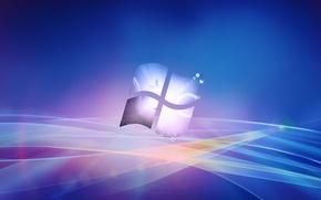 Картинка полосы, лого, компьютеры, windows, microsoft, computers