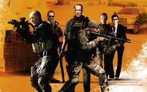 Картинка Monster, Арнольд Шварценеггер, Arnold Schwarzenegger, Сэм Уортингтон, Grinder, Саботаж, Terrence Howard, Sugar, Joe Manganiello, John …
