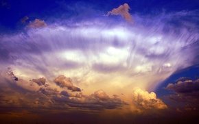 Картинка небо, облака, пейзажи