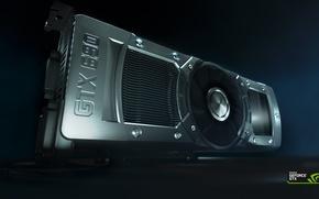 Картинка мощь, видеокарта, NVIDIA, GeForce GTX 690