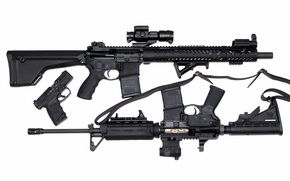 Картинка пистолет, оружие, винтовки, штурмовые