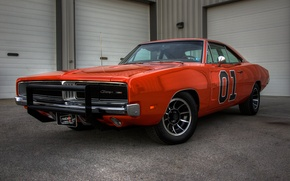 Картинка 1969, Dodge, Charger, General, Lee