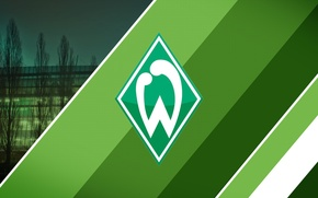 Картинка wallpaper, sport, logo, football, Werder Bremen