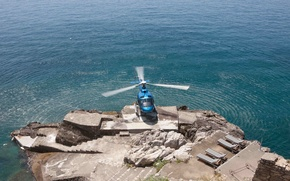 Картинка вертолет, посадка, геликоптер