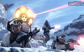 Картинка звездные войны, star wars, hot, повстанцы, Electronic Arts, dice, хот, FPS, Frostbite 3, battlefront, фронт …